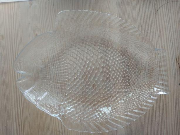 Talerz szkło ryba vintage