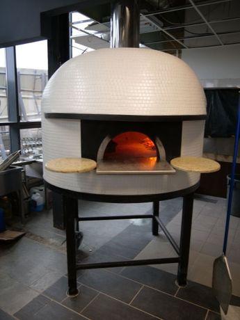 Neapolitański oryginalny Piec do pizzy opalany drewnem