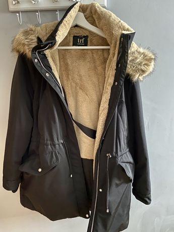 Ciepła zimowa kurtka Zara XXL