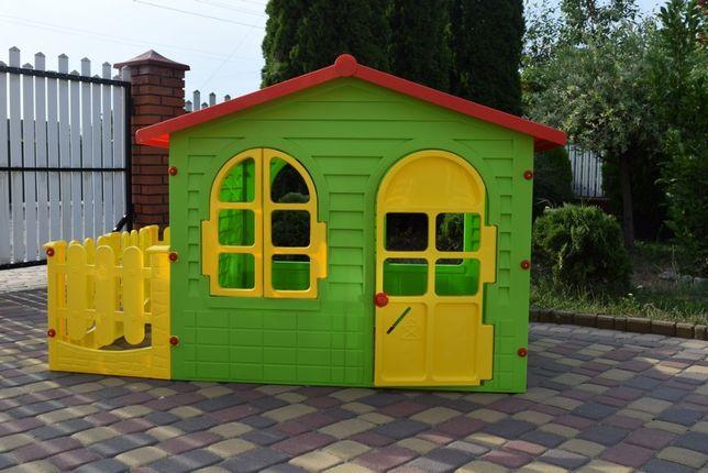 Детский игровой домик Garden House с террасой (плотиком) 10498 Польща