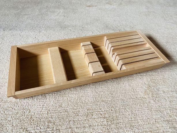 Ikea RATIONELL wkład do szuflady organizer taca na noże