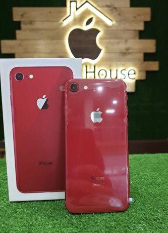 Магазин iPhone 8 64 Red product ! Гарантия 3 месяца Идеальное состоян