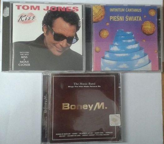 Płyty CD - Tom Jones, Pieśni świata, Boney M.