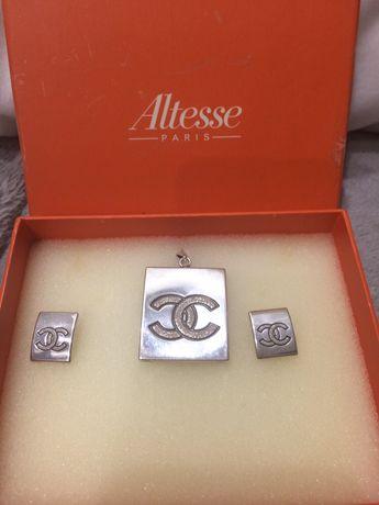 Biżuteria Srebrna, komplet ze srebra,