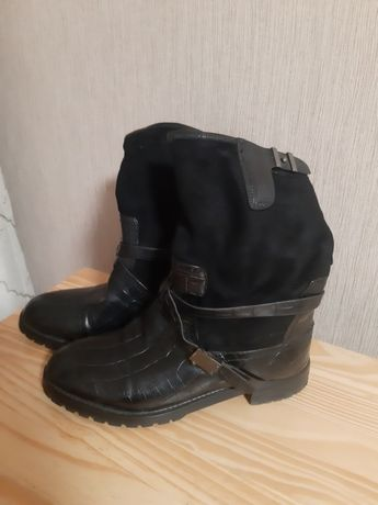 Женские сапоги размер 39
