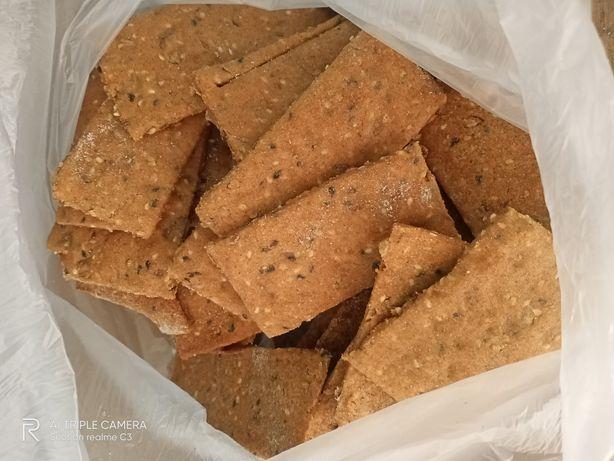 Полезные домашние хлебцы