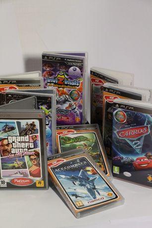 Jogos Variados de PSP (entre 4 a 6 €)