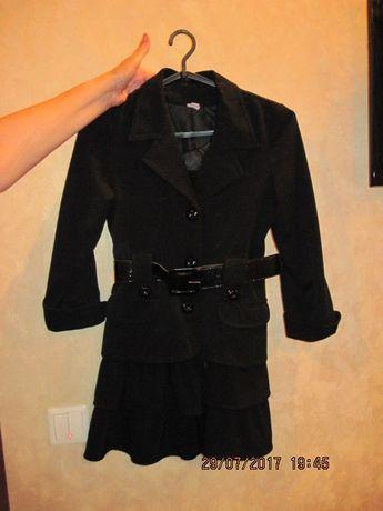 черный школьный пиджак