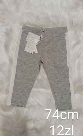 spodnie chlopiec 74cm