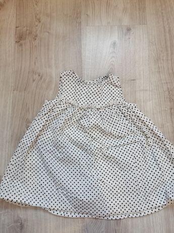 Sukienka niemowlęca H&M