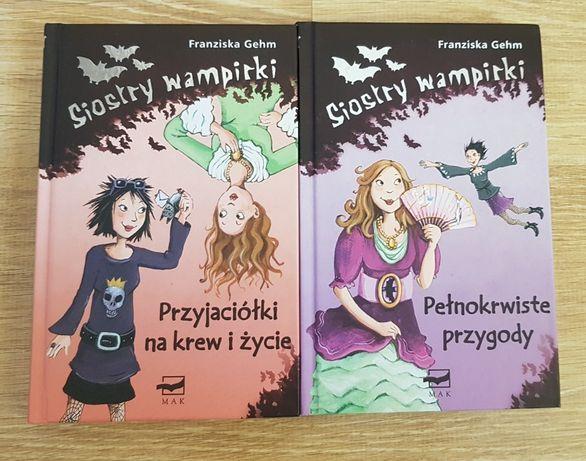 ",,Siostry wampirki"" Franziska Gehm"