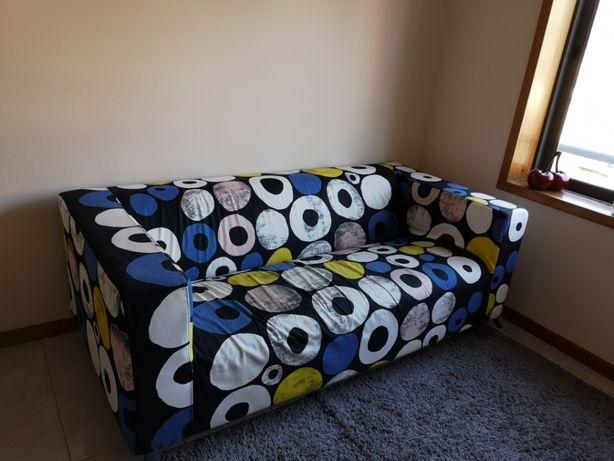 Sofá KLIPPAN multicolor IKEA