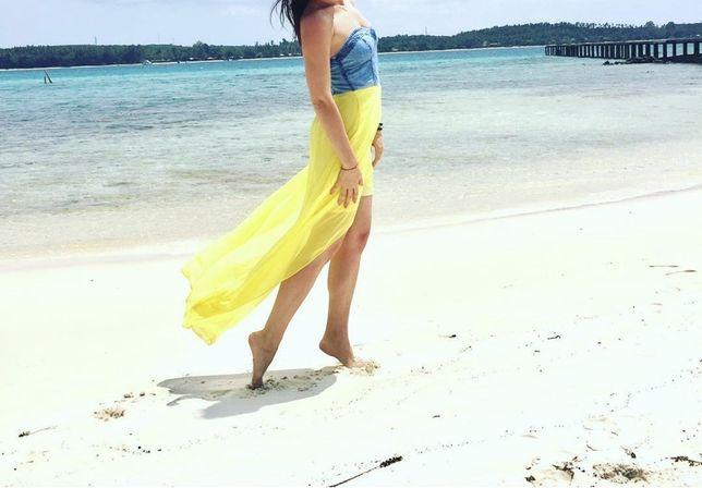 Купальник, парео, пляжное платье, туника