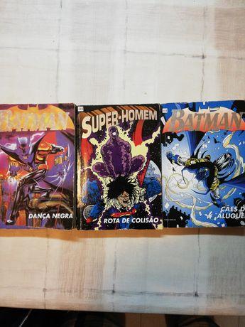 Banda Desenhada 'Super Heros', Batman, Super Homem, DC.
