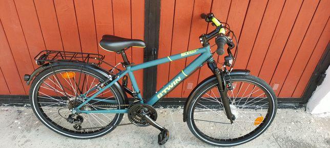Rower młodzieżowy 24 DECATHLON B-TWIN 540. NEXUS. Stan idealny!