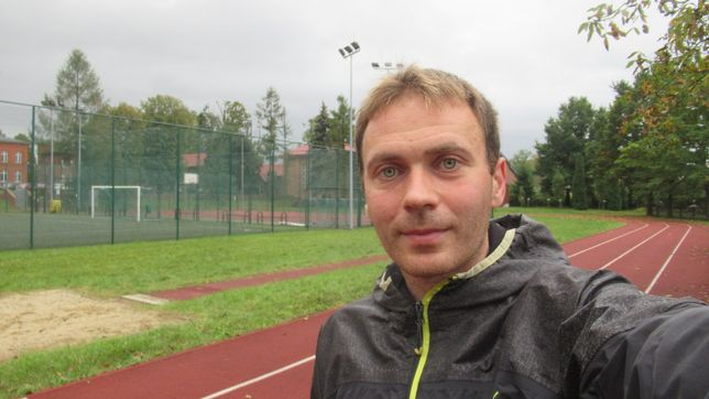 Trener biegania Marcin Witkowski