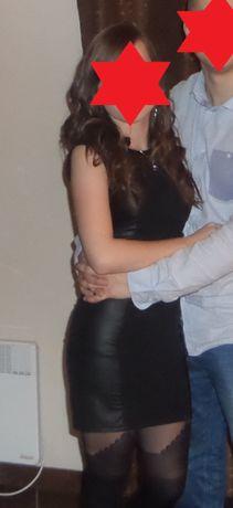Sukienka czarna, na impreze