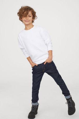Подростковые темно-синие джинсы h&m skinny fit 13-14 лет
