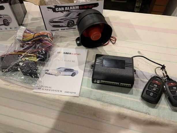 Автосигнализация автомобильная, сигнализация L-C09 Car Alarm System