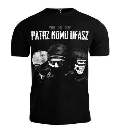 T-shirt Public Enemy - Patrz Komu Ufasz
