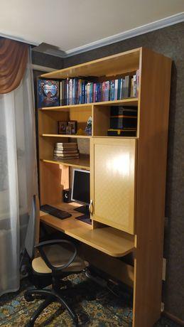 Письменный стол с полками, шкаф