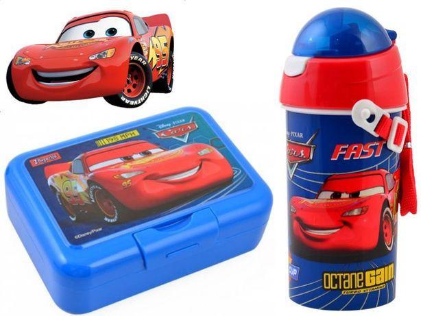 Набор Cars - Тачки: ланч бокс (ланчбокс) и бутылка с трубочкой