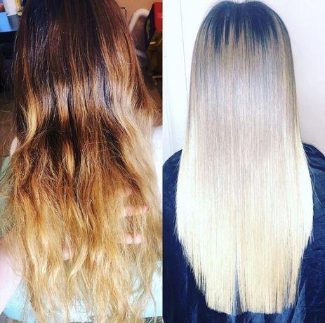 Окрашивание волос разные техники