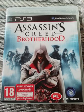 Assassins CREED brotherhood PS3 PL