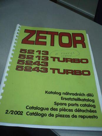 Katalog Zetor-ogrodnik 5213 do 5243T Mod: 5213, 5213T, 5243, 5243T