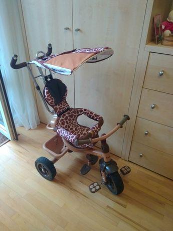 Продам велосипед коляска трехколесный с родительской ручкой идеальный
