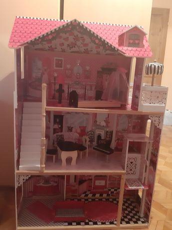 Duży domek dla lalek Barbi