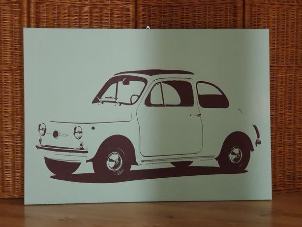 IKEA obraz Fiat 500