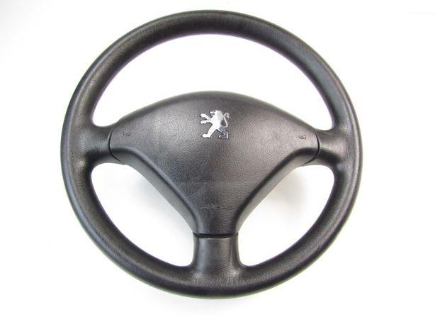 Peugeot 307 kierownica airbag ładna komplet