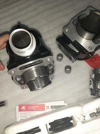 Cilindro e piston Yamaha BANSHEE 350 NOVO yfz cabeça c juntas