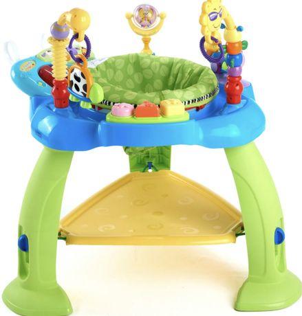 Игровой  развивающий центр прыгунки hola toys