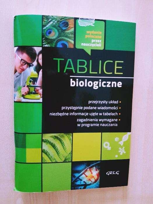 Tablice Biologiczne nauka do matury! Greg Warszawa - image 1