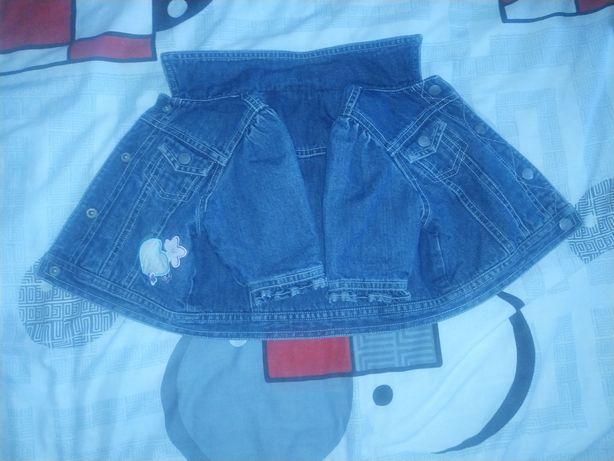Продам детскую джинсовую куртку, в хорошем состоянии , без дефектов.