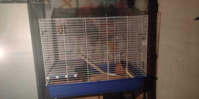 Duża klatka dla szczurów, koszatniczek, fretek, myszy, gryzoni.
