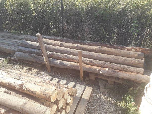 Stemple, belki budowlane