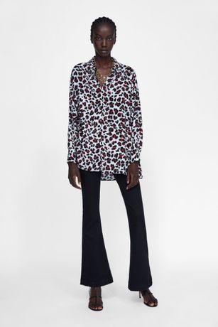 Camisa tigresa Zara