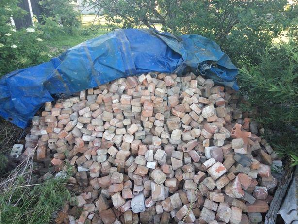 cegły z rozbiórki oddam za darmo
