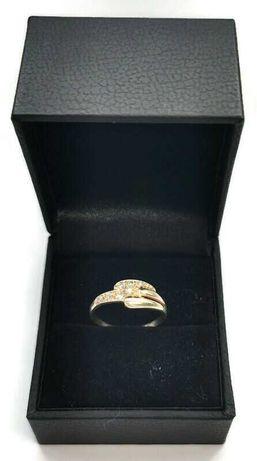 Złoty pierścionek 583 1,41 g r. 9