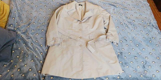 Lekki płaszcz r 48