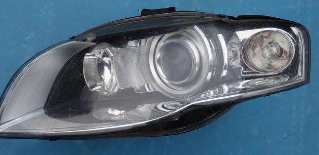 Audi A4 B7 lampa xenon lewa lewy przód Europa