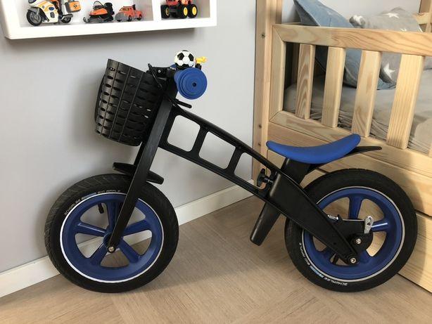 Rowerek biegowy first bike z wyposażeniem(nowy kosztuje 637,99)