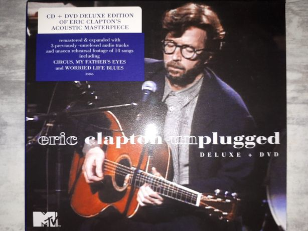 Eric Clapton Unplugged Deluxe Edition 2013 CD\DVD