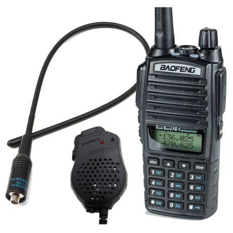 Krótkofalówka Baofeng UV-82 Radio Strażackie OSP +771 + GRUSZKA