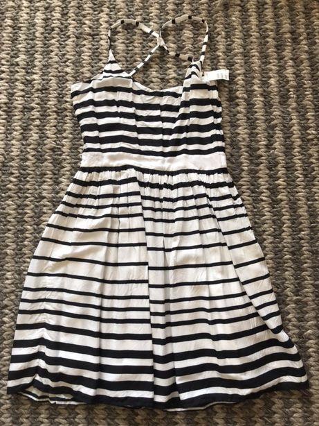 Nowa sukienka w paski letnia rozm 40 H&M letnia zwiewna