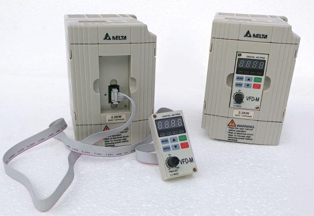 Преобразователь частот Delta 2.2кВт - VFD022M43B (Частотник 380В)