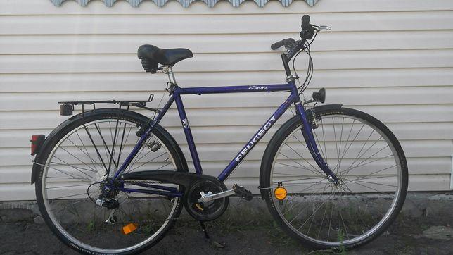 Велосипед PEUGEOT Rimini весь на Shimano Altus колеса 28 France